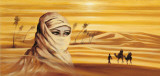 Caravan I Poster by Ali Mansur