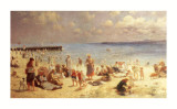 Sunshine on the Sands, Lowestof Prints by Horace Van Ruith