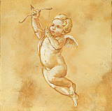 Happy Cherubs I Poster by Taddei