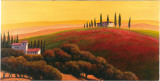 Tuscan Skyline II Prints by Cimino