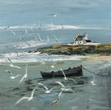 Marée Basse Affiches par Christian Sanseau