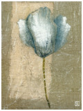 Tulipe Bleue II Print by Philippe Paput
