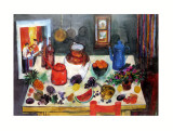 Kitchen Table Prints by Sheila Finlay
