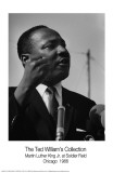 Martin Luther King, Jr. Art Print by Ted Williams
