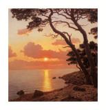 Calme du Sour, Cote d'Azur Affiches par Ivan Choultse