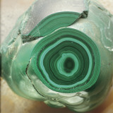 Close-Up of Malachite Rock Papier Photo par G. Cigolini