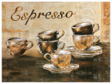 Espressos 6 Tasses Art by  Clauva