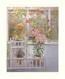 Through the Conservatory Window Art by Timothy Easton