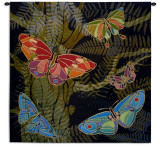 Woodland Butterly Wall Tapestry