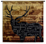 Nature&#39;s Calling Wall Tapestry