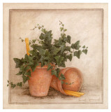 Lierre et Pots I Prints by Vincent Jeannerot