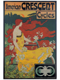 American Crescent Cycles Giclee Print by  Ramsdell