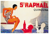 St. Raphael Prints by Ren&#233; Vincent