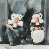 Sur le Pas de la Porte Prints by Maryvonne Jeanne-Garrault