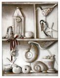 Etagere, Salinas Plage Affiches par Michele Letang
