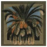 Palmier Fleur Art by A.C. Jacquin