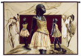 The Hall of Ballerina Wall Tapestry by Michael Thorstad