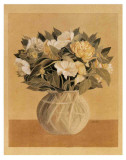 Bouquet Jaune II Print by Laurence David