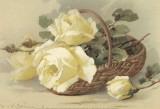 Corbeilles de Roses III Prints by C. Klein