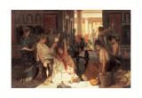Pompeian Interior I Prints by Prosper Piatti