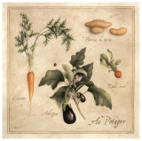 Au Potager Print by Vincent Perriol