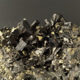 Close-Up of Enargite with Pyrite Photographic Print by G. Cigolini