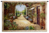 Secret Garden I Wall Tapestry by Vivian Flasch