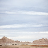 Big Sky Badlands South Dakota Photographic Print by Chris Teso