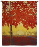 Fire Maple Wall Tapestry by J. Charles