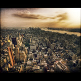 New York City View Photographic Print by Joep Roosen