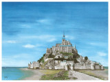Mont Saint Michel Prints by Gerard Malon