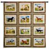 Sporting Dogs Wall Tapestry