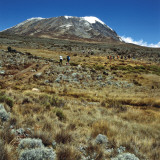 Low Angle View of a Mountain, Mount Kilimanjaro National Park, Tanzania Photographic Print by De Agostini