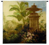 Tropical Fantasy Wall Tapestry by Jean Capeinick