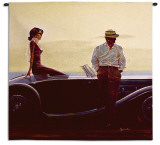 Coastal Drive Wall Tapestry by Brent Lynch