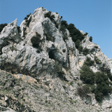 Low Angle View of a Mountain, Gennargentu National Park, Sardinia, Italy Lmina fotogrfica por P. Jaccod