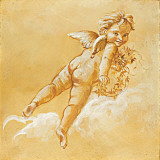 Happy Cherubs II Prints by  Taddei