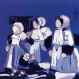 Les Fillettes Plakater af Maryvonne Jeanne-Garrault