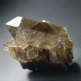 Close-Up of a Smoky Quartz Stone Reproduction photographique par G. Cigolini