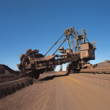 Crane in an Iron Mine, Port Hedland, Australia Photographic Print by N. Cirani