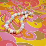 Psychedelic Candy Necklace Photographic Print by Wendy Idele