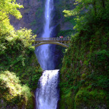 Multnomah Falls,Oregon Photographic Print by Marc Crumpler