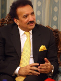 Pakistan&#39;s Interior Minister Rehman Mali Photographic Print by Atta Kenare