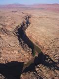 Arizona, Kayenta, the San Juan River Cuts a Gorge Through Mike's Mesa Photographic Print by Adriel Heisey