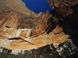 Lofty Rock Formations, Zion National Park, Utah, Usa Photographic Print by Alex Adams