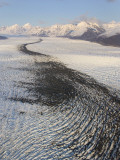 Alaska, Near Palmer, Knik Glacier Is 28-Miles Long, 6-Miles Wide in Places Photographic Print by Bill Roth