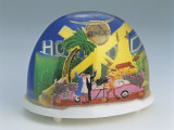 Close-Up of Figurines of Actors at Hollywood Set in a Snow Globe Photographic Print
