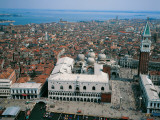 Italy - Veneto Region - Venice - the Doge's Palace, Aerial View Photographic Print
