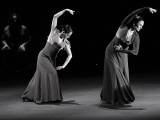 Spanish Flamenco Dancers Merche Esmerald Photographic Print by Daniel Garcia