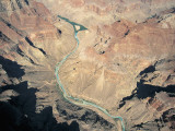 High Angle View of a River Flowing Between Cliffs, Colorado River, Grand Canyon National Park, AZ Photographic Print by L. Romano